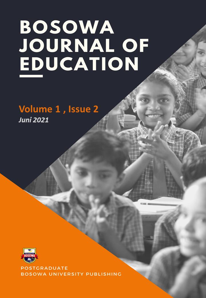 View Vol. 1 No. 2 (2021): Bosowa Journal of Education, Juni 2021